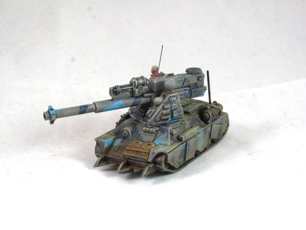 Gun tank 1