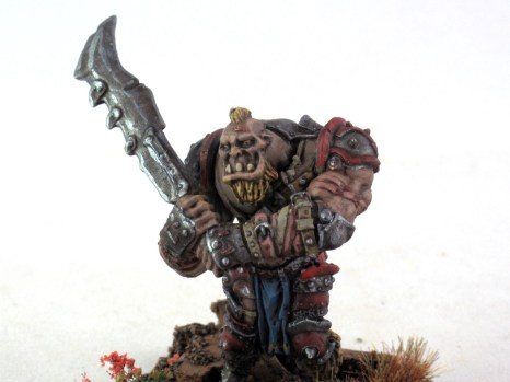 Mordheim Ogre Mercenary closeup