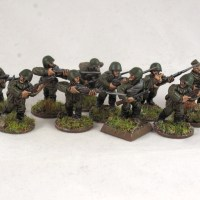 First Corps Soviet infantry
