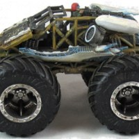 Gaslands: Team Mishkin and the nuclear monster truck