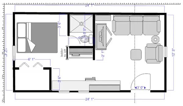 concrete tiny house plans efficient and durable little with