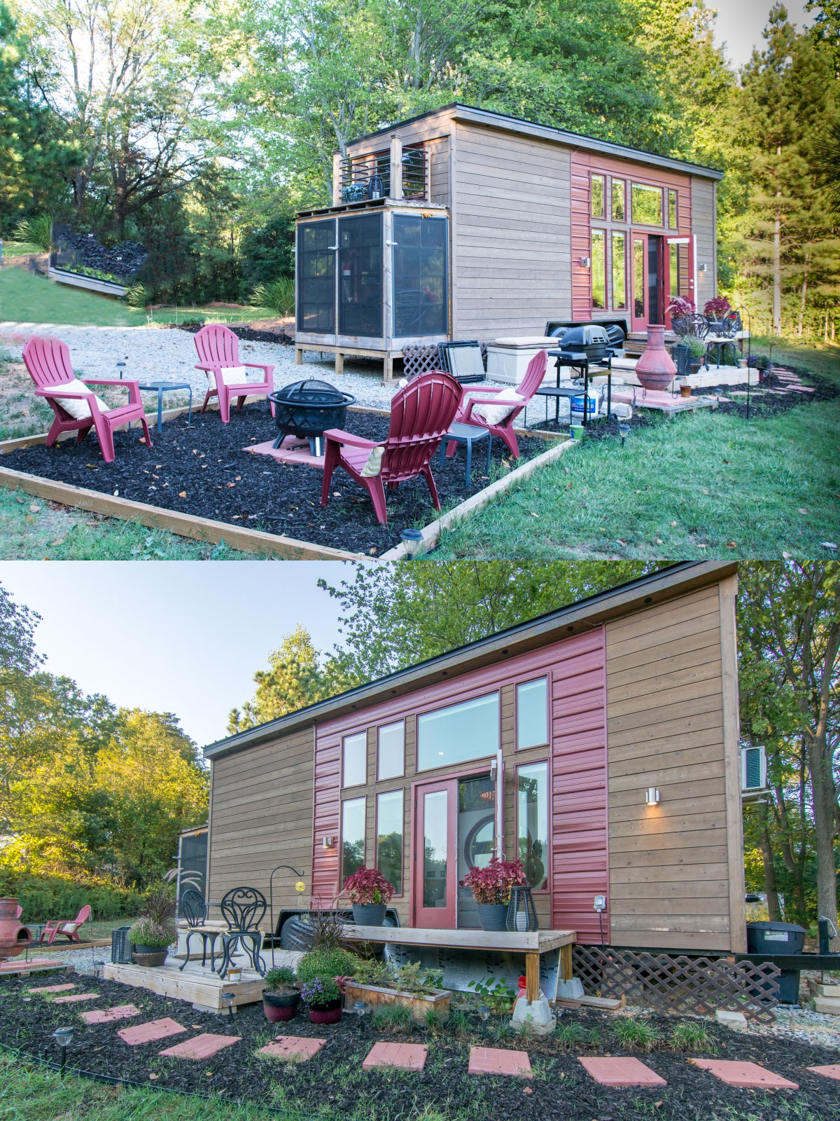 rustic Tiny house plans