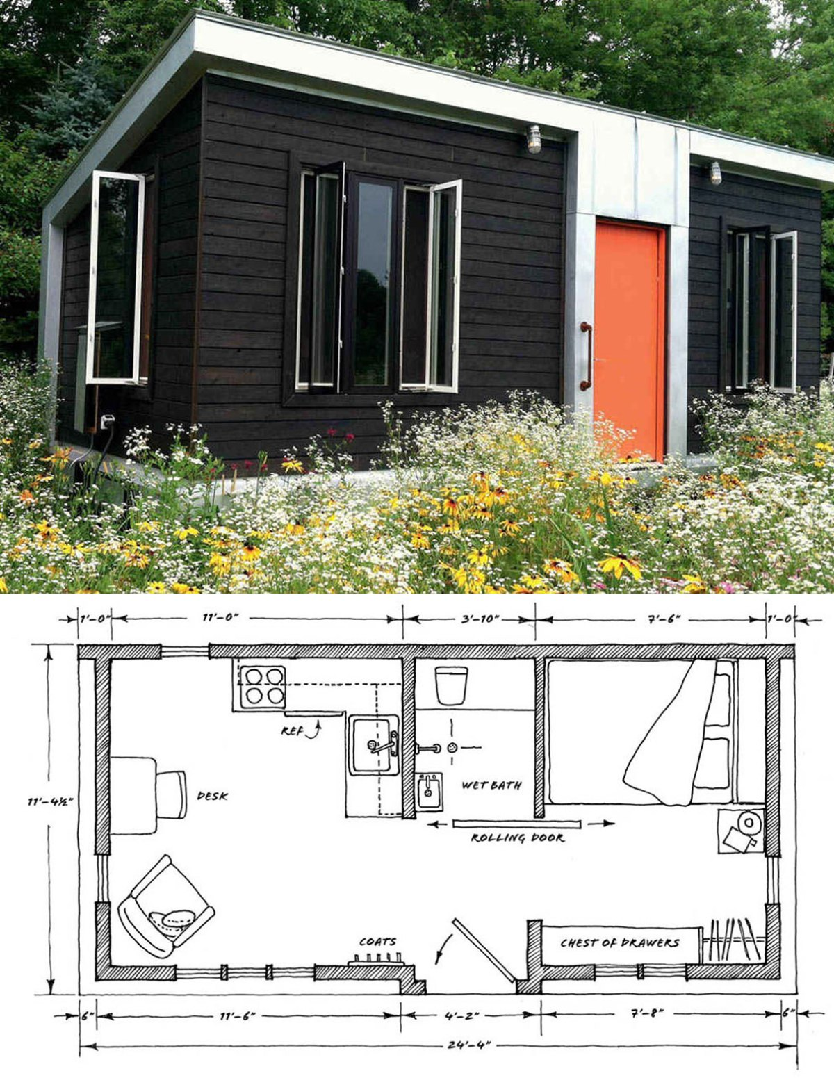 container tiny house plans