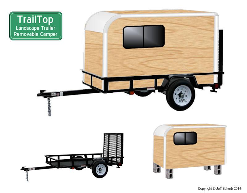 Teardrop Trailer Mini Caravane Tiny House France