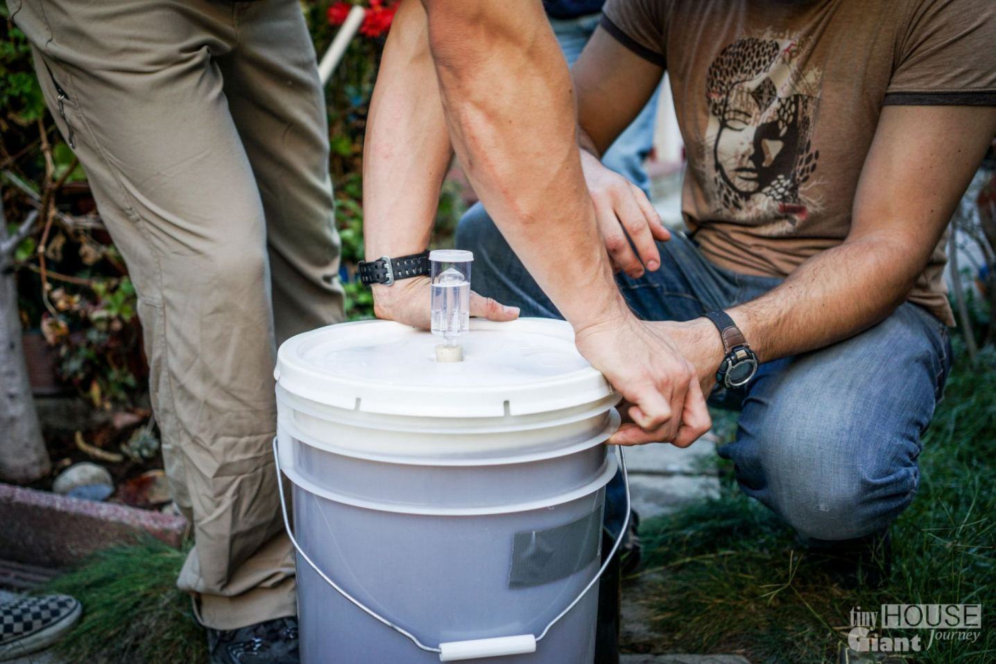18) Seal the fermenter and wait two or three weeks