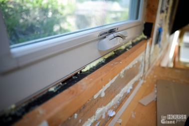 """Don't forget to use the window specific """"Great Stuff"""" for all your windows"""