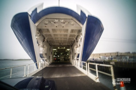 The mouth of the ferry