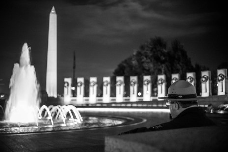 Washington Monument & WW2 Memorial