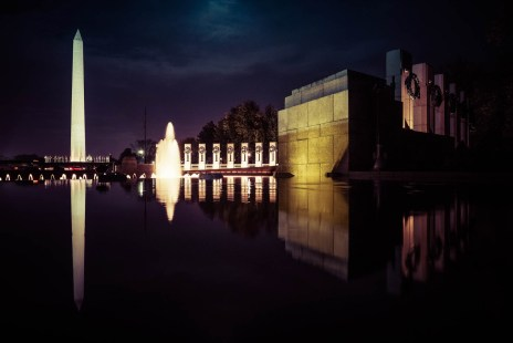 WW2 Memorial & Washington Monument