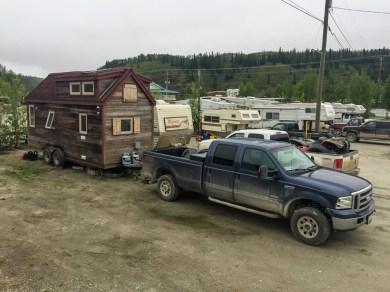 Bonanza RV Park in Dawson City - Private Campground