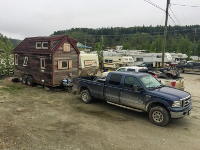 Bonanza RV Park in Dawson City - Private Campground
