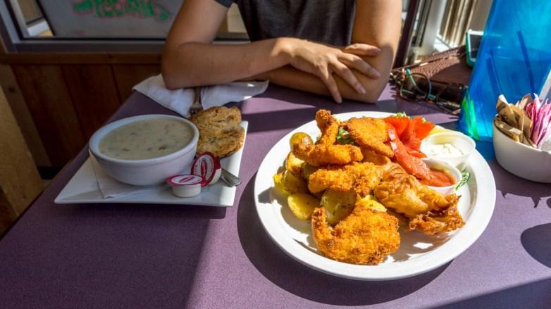 Fish Dinner at Dolly's Fish Market