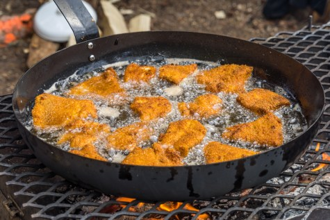 Fried Northern Pike