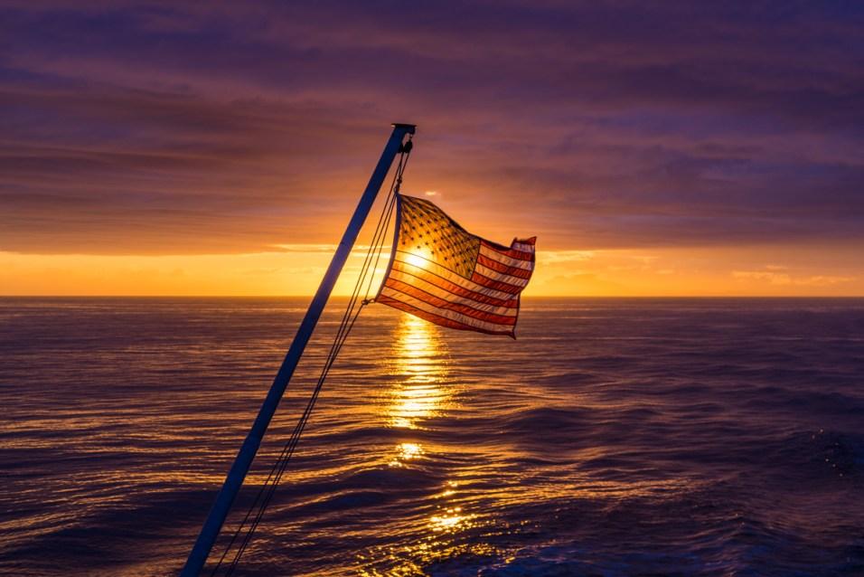 Ferry Sunset - 0002