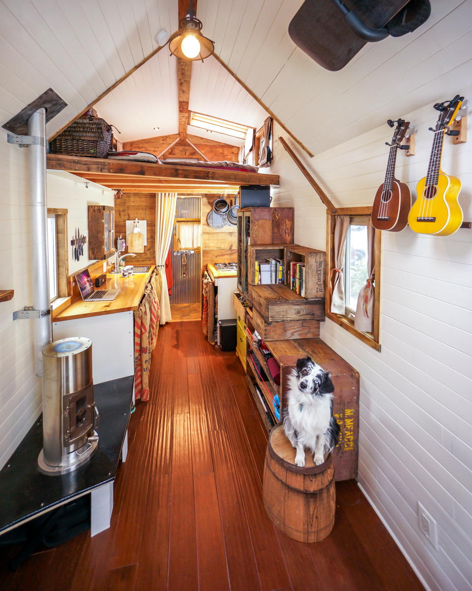 Tree Inside The House Interior Climate Controlled: Our Tiny House Interior Photos