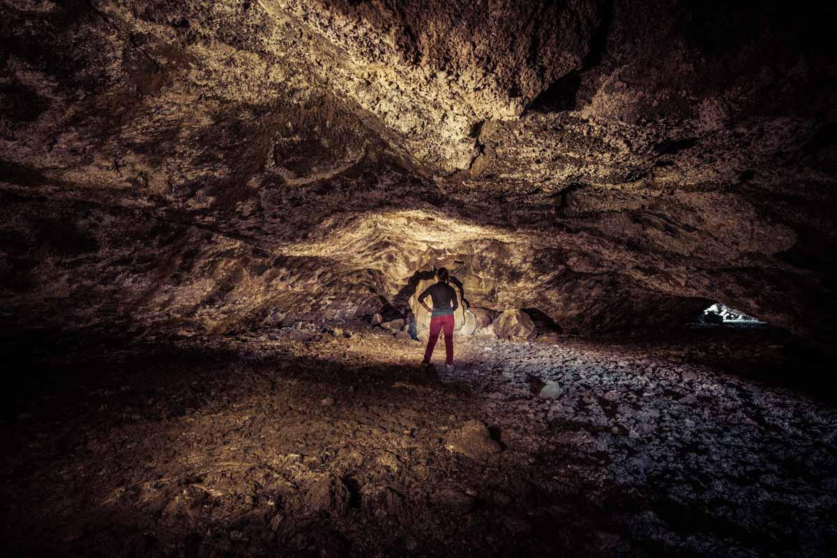 Inside Buffalo Cave