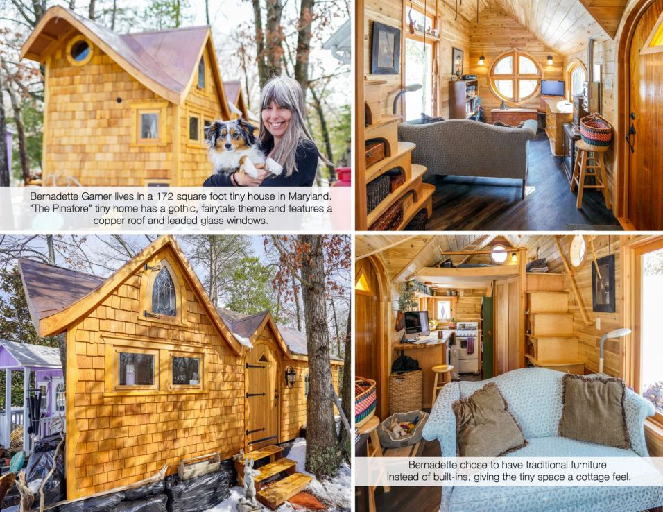 Bernadette's Pinafore Tiny Home
