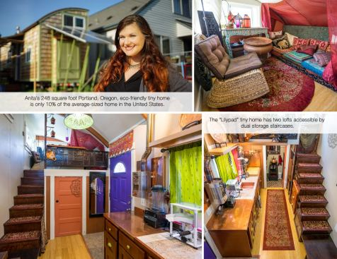 Anita's LIlypad Tiny Home