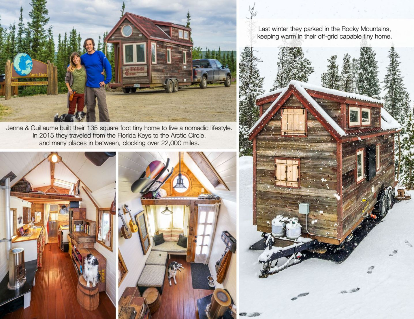 Jenna & Guilaume's Tiny House Giant Journey