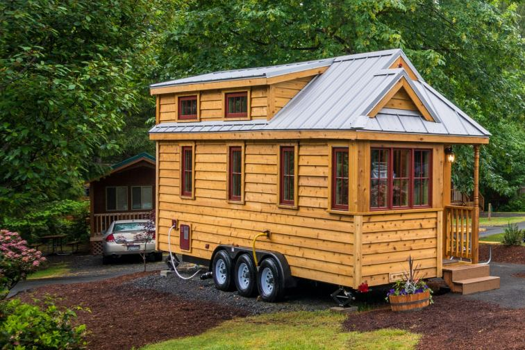 Mt Hood Tiny House Village Lincoln Tumbleweed - 0016