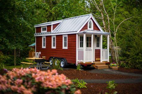 Mt Hood Tiny House Village Scarlett Tumbleweed - 0008