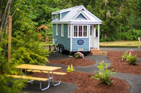 Mt Hood Tiny House Village Zoe Tumbleweed - 0003