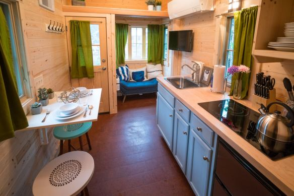 Mt Hood Tiny House Village Zoe Tumbleweed - 0007