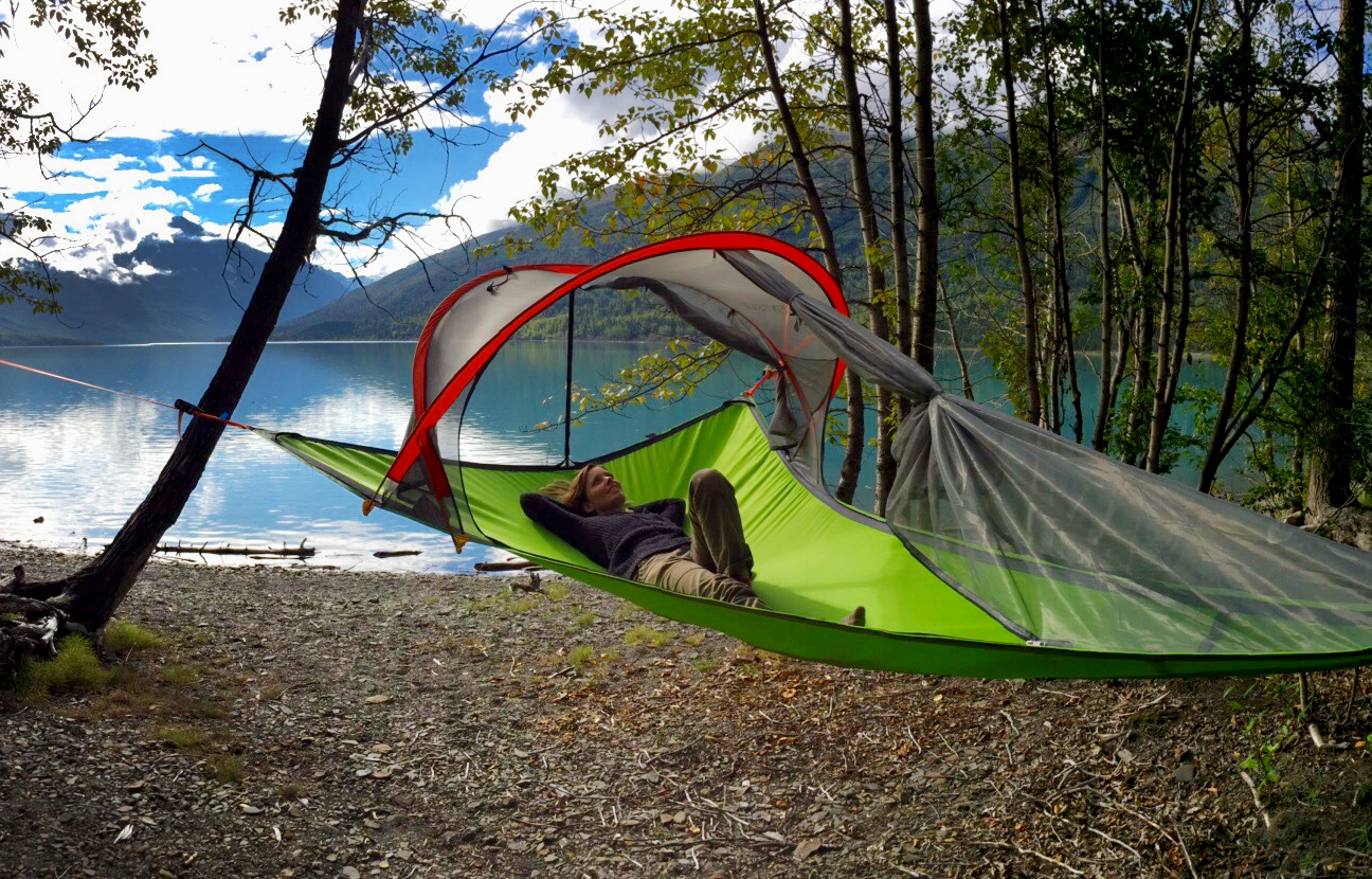 Tree Tent Used For Tiny House Spare Bedroom Relaxing And