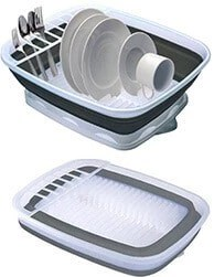Prepworks-by-Progressive-Collapsible-Dish-Rack-with-Drain-Board