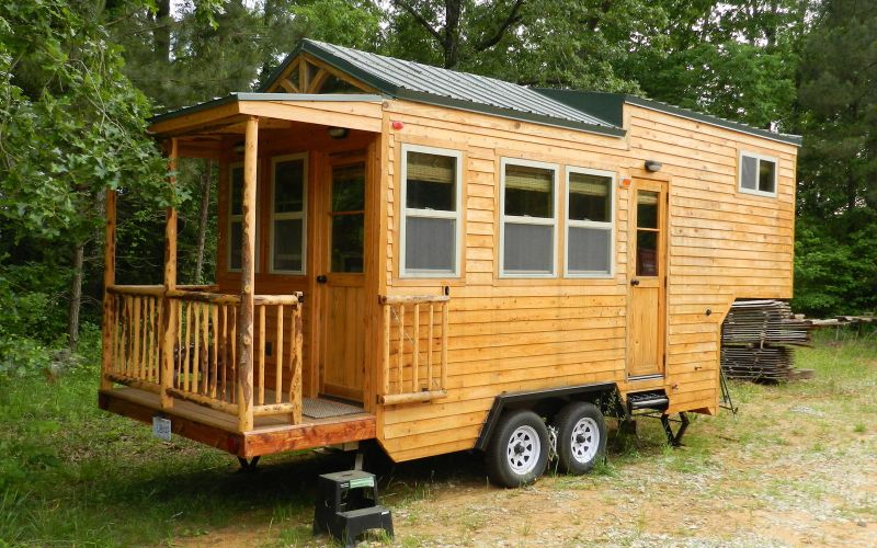 5th Wheel Tiny House on Wheels by Mississippi Tiny House LLC 0011