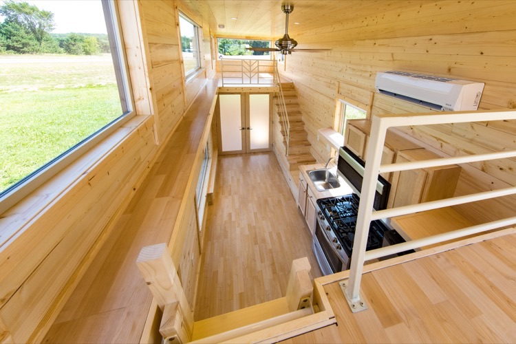 ESCAPE ONE XL Zen Tiny House on Wheels 005