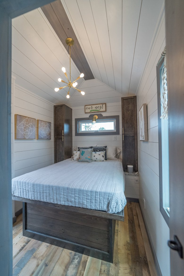 330 Sq Ft Movable Roots Tiny House On Wheels Tiny
