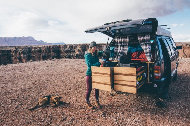 Solo Female Living out of an 87 Toyota Van 004