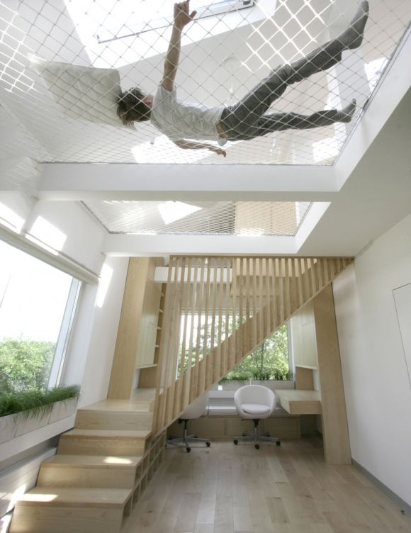 Ceiling Hammock Sleeping Loft For Tiny Houses? – Tiny House Pins