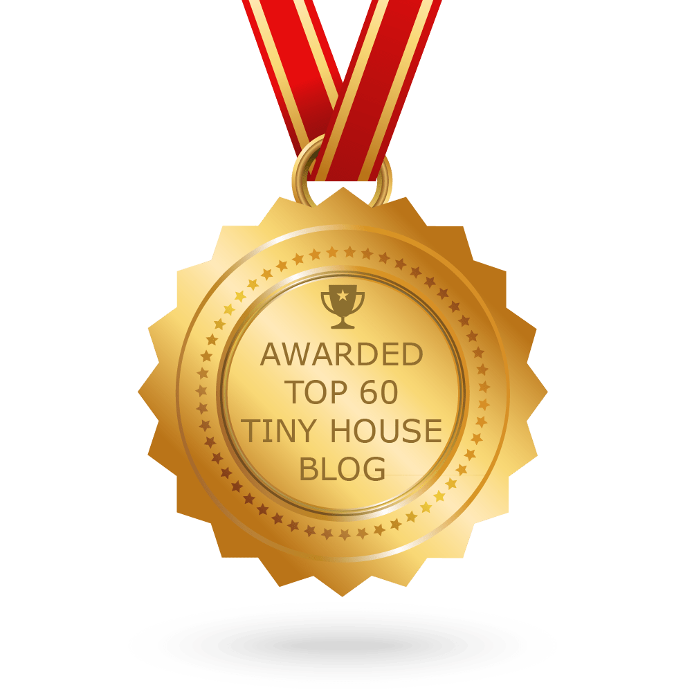 Feedspot top 60 tiny house blogs badge