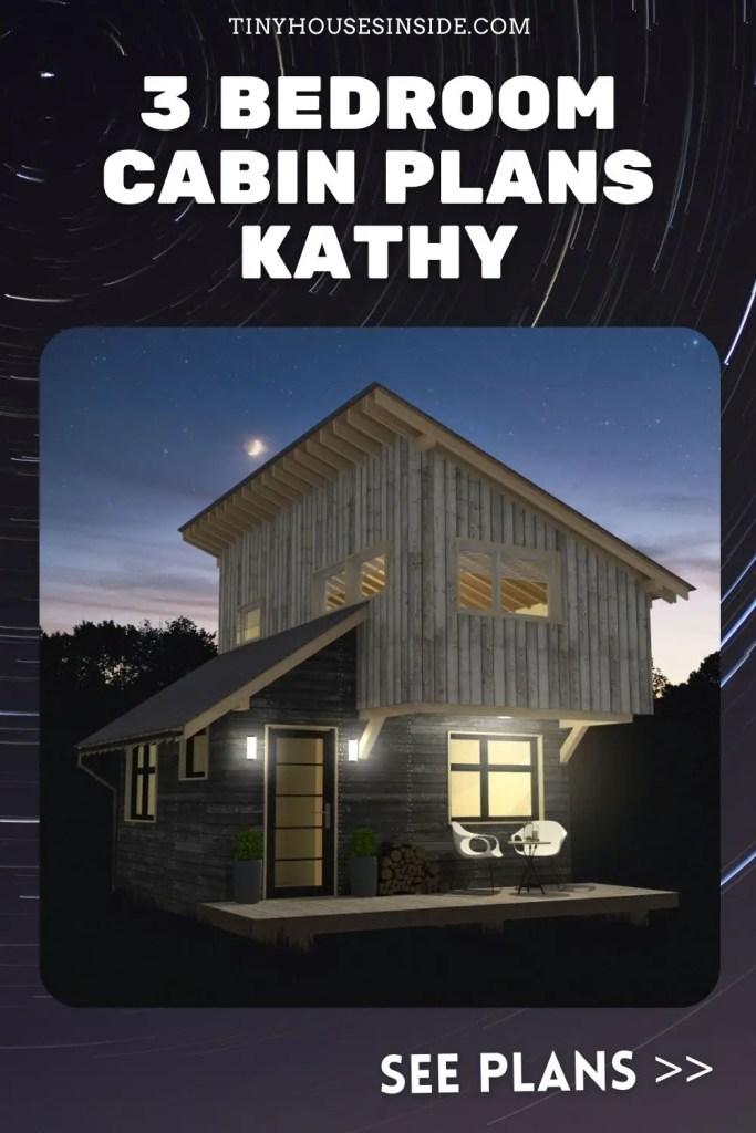 3 Bedroom Cabin Plans Kathy