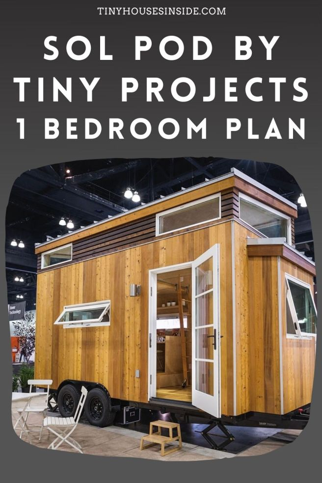Sol Pod by tiny projects 1 Bedroom Plan