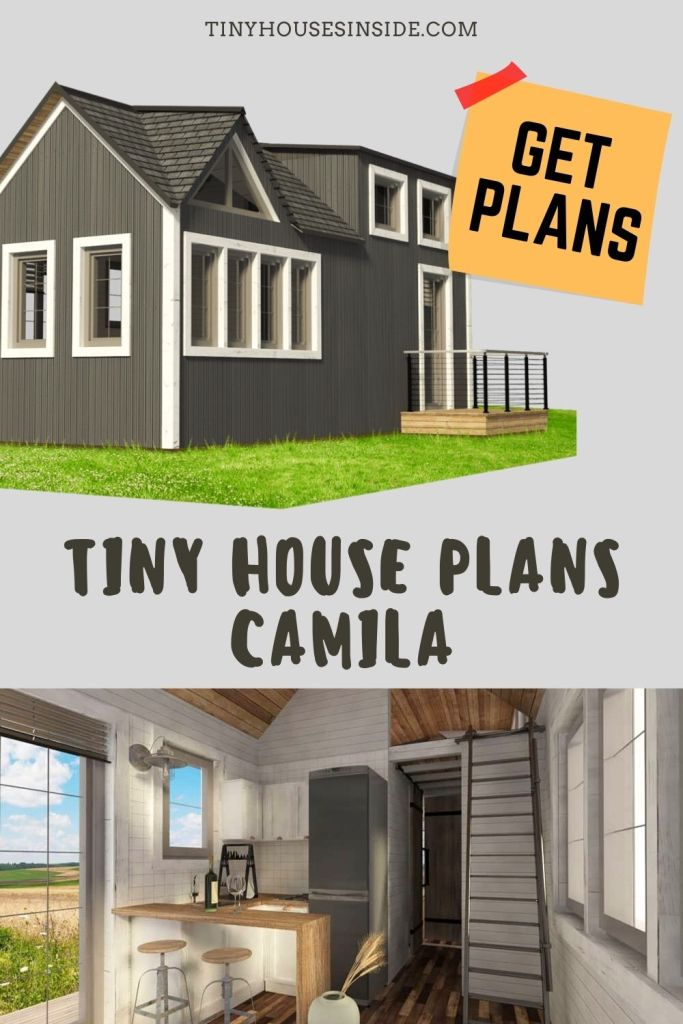 Tiny House Plans Camila 2 story