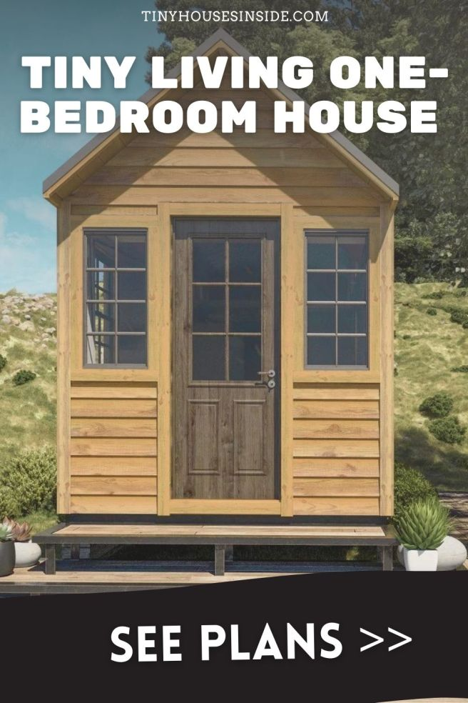 Tiny Living one-bedroom house plans
