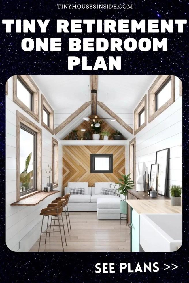Tiny Retirement One bedroom plan
