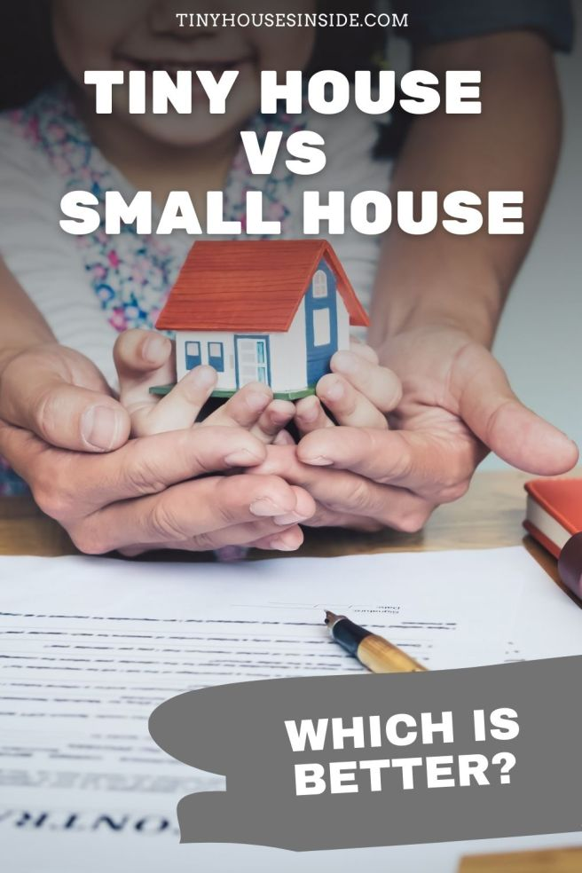 difference between Tiny House and Small Houses