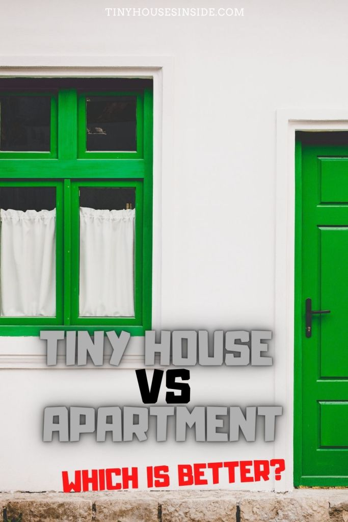 difference between tiny house vs apartment
