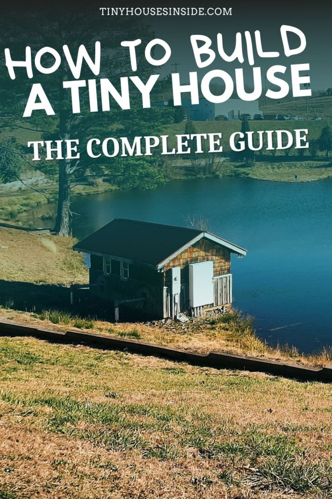 how to build a tiny house for free