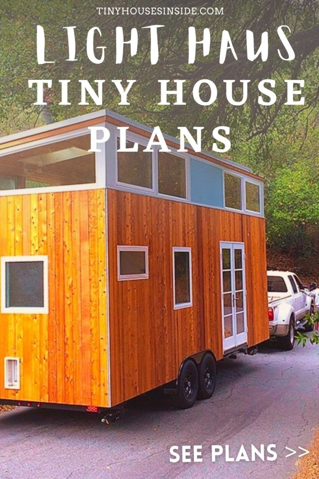 light Haus Tiny house plans 1 bed room