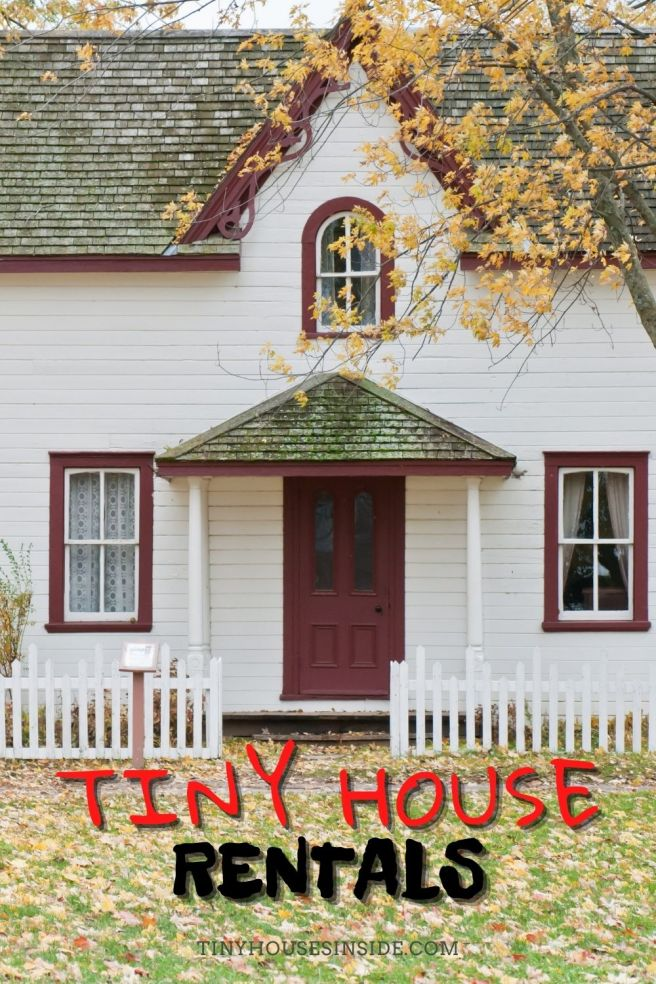renting a tiny house