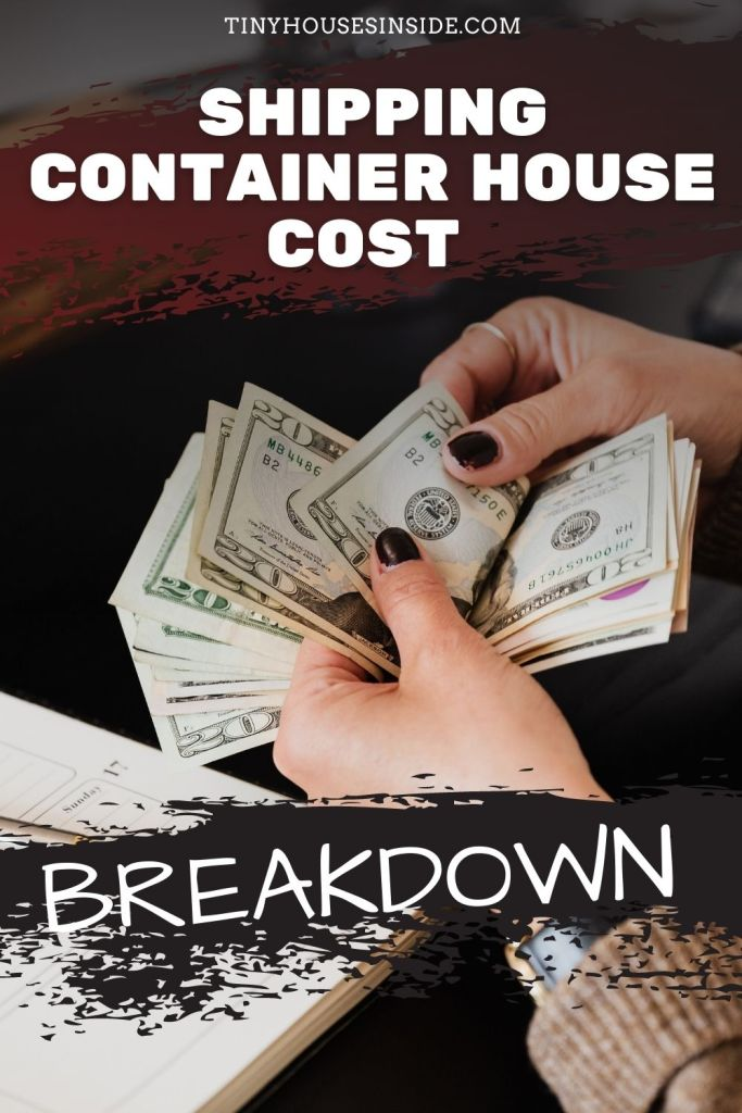 shipping container house costs