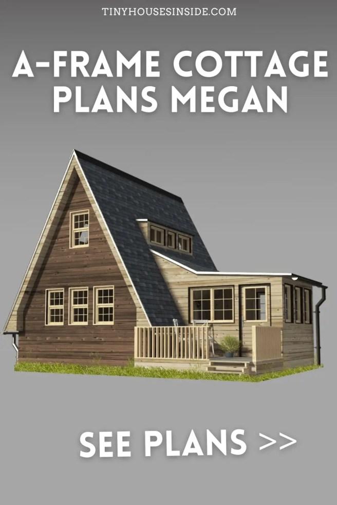 A-Frame Cottage Plans Megan
