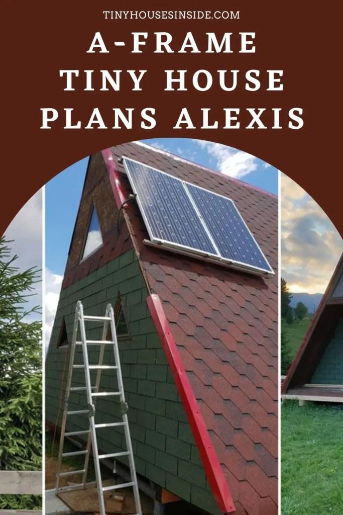 A-Frame Tiny House Plans Alexis