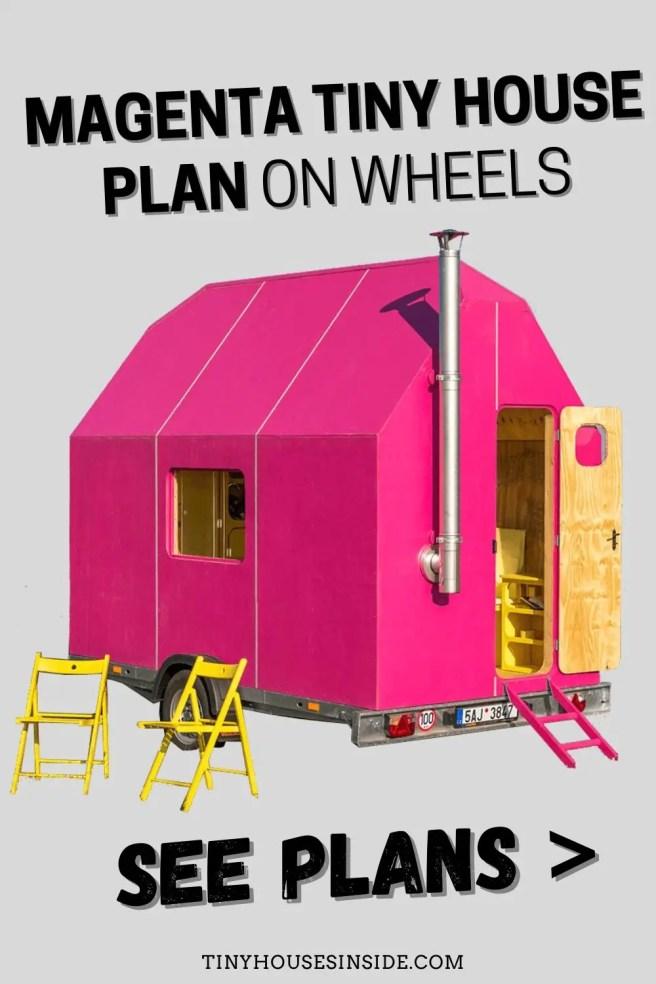 Magenta Tiny House Plan Trailer