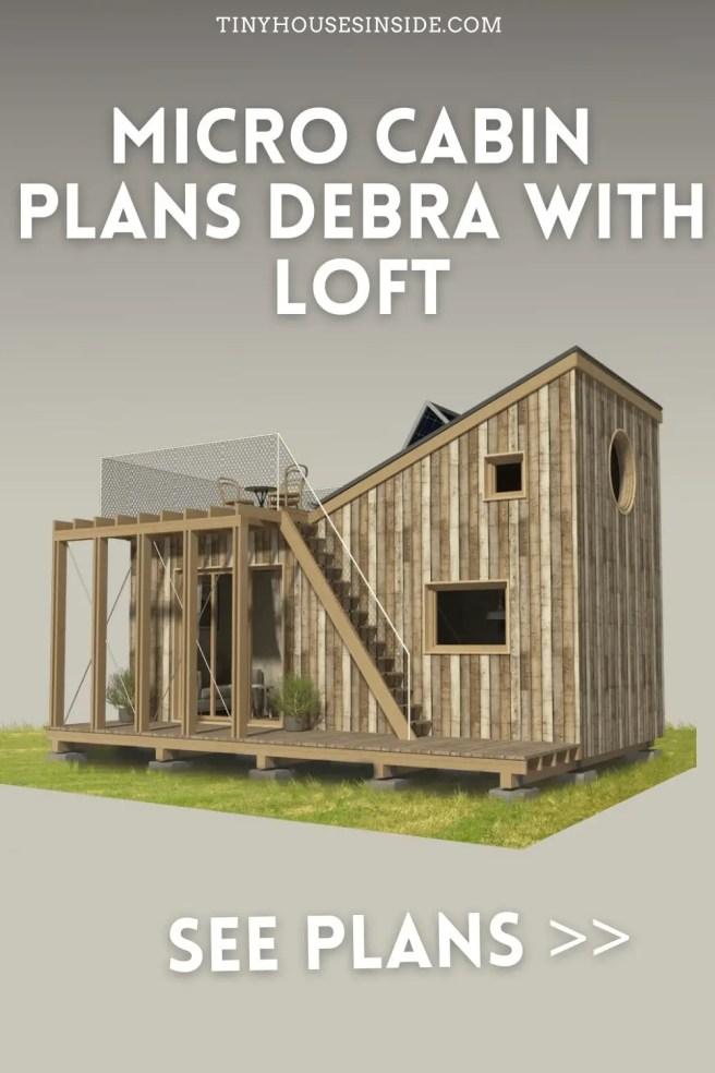 Micro Cabin Plans Debra